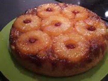 Gâteau renversé a l'ananas