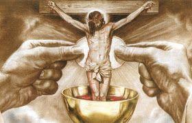 La veille de la messe avec Jésus