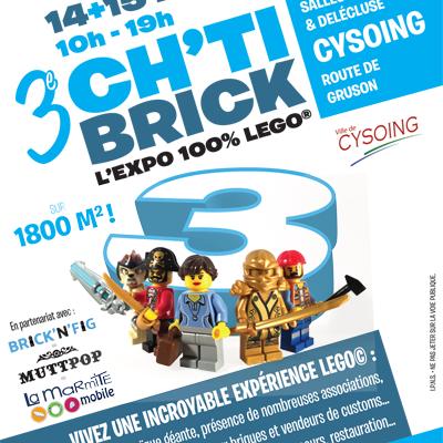 Expo Lego CH'TI BRICK Cysoing 14/15 mai 2016