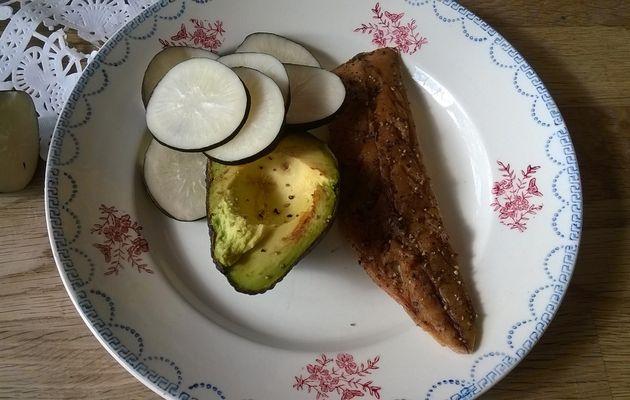 Assiette de déjeuner minute