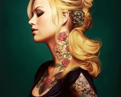 La pin up tatouée