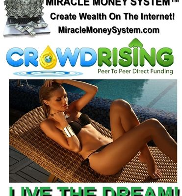 CROWD RISING Is A New Money Making System!