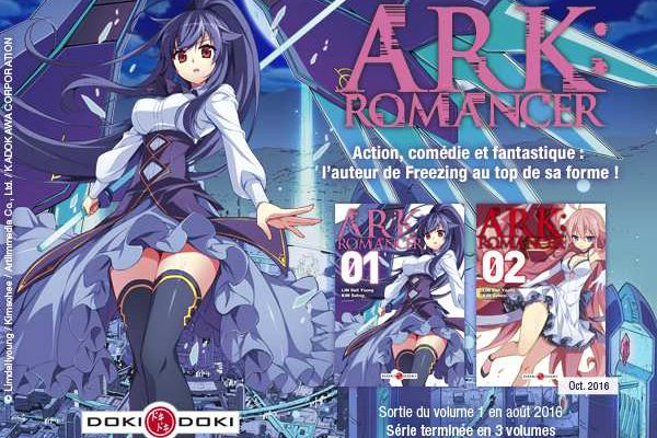 ARK ROMANCER / TOME 1