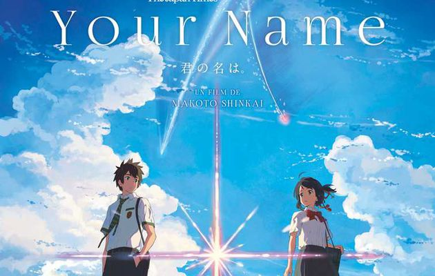 YOUR NAME, LE FILM DE MAKOTO SHINKAI, SERA DIFFUSE AU CINÉMA LE 28 DÉCEMBRE EN FRANCE