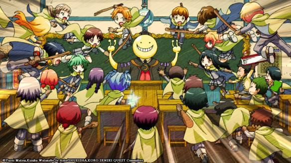 UN SPIN-OFF DE L'ANIME ASSASSINATION CLASSROOM BIENTÔT DISPONIBLE