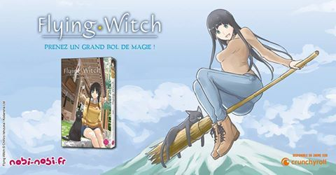 LE MANGA FLYING WITCH LICENCIÉ PAR NOBI-NOBI