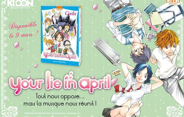 UN SPIN-OFF POUR YOUR LIE IN APRIL CHEZ KI-OON: LE ONE-SHOT SORT EN MARS !