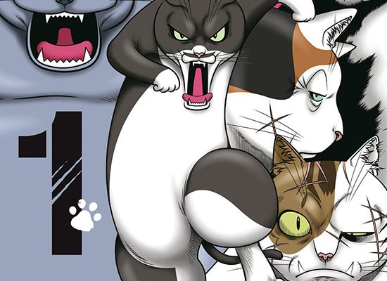 STREET FIGHTING CATS / TOME 1