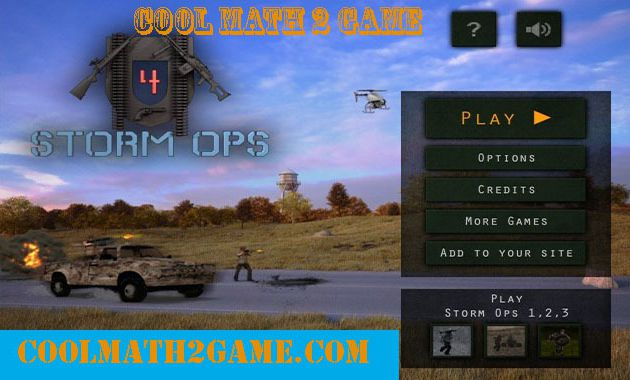 Storm Ops 4 free game in cool math 2 game