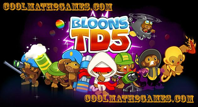 Bloons Tower Defense 5 play game free in coolmath2game.com