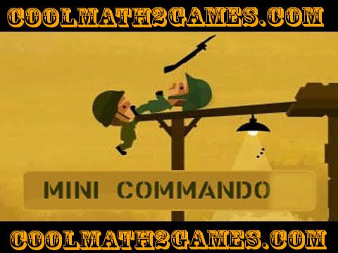 Mini Commando play game free in coolmath2game.com