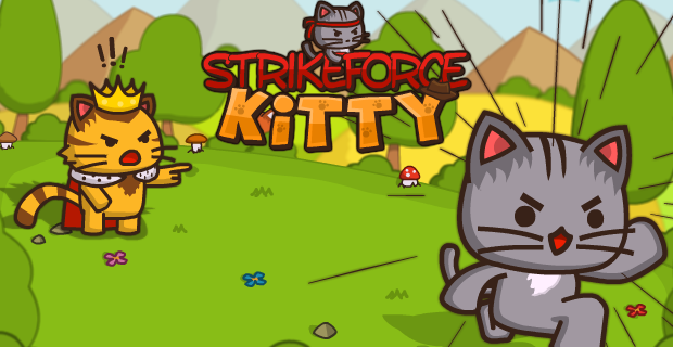 StrikeForce Kitty play game free in coolmath2game.com