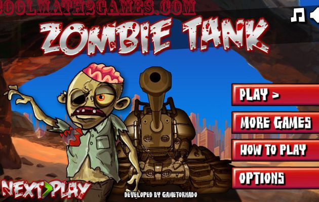 Zombie Tank play game in coolmath2games.com