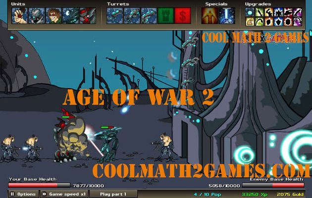 Age of War 2 free games in cool math 2 games