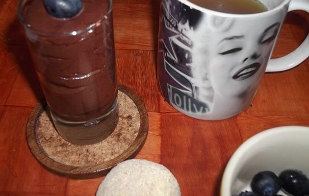 Mousse au chocolat minute