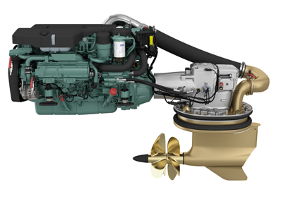 Volvo Penta reveals new 8-liter diesel engine at Cannes Yachting Festival