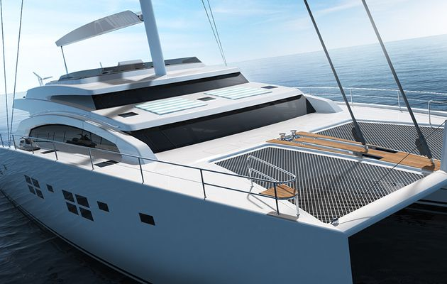 Sunreef Yachts to build a 88ft double deck sailing superyacht