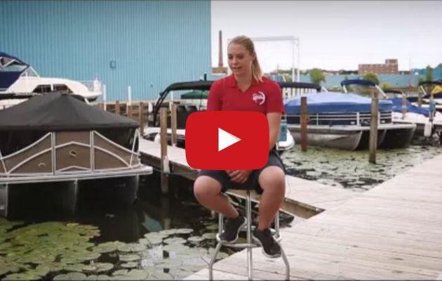 VIDEO - Female mechanic makes her mark in nautism