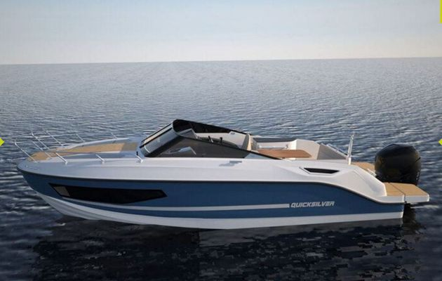 The new Quicksilver Activ 755 Cruiser makes its UK debut at the London Boat Show