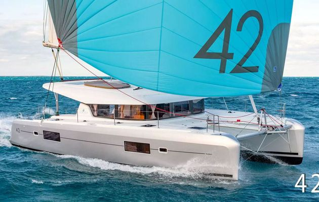 Already 100 Lagoon 42 catamarans built in just 1 year of marketing