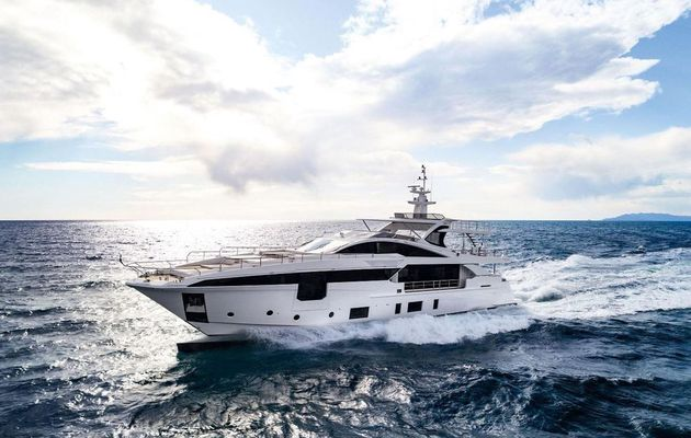 Azimut Grande 35 Metri, the new Azimut Yachts flagship, to be presented at Monaco Yacht Show 2017