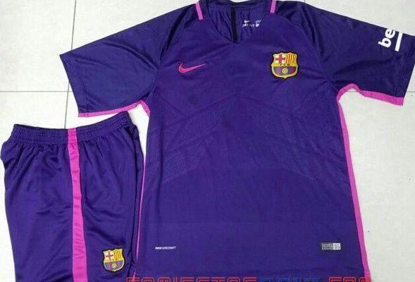 2017 camiseta de Barcelona segunda 14.9€|camisetas de futbol baratas 2017