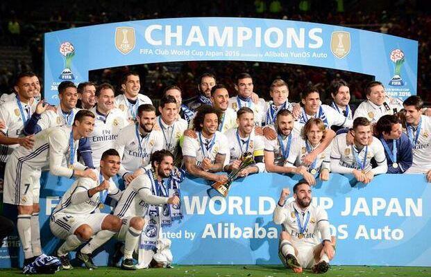 Finales del Club Mundial 2016 El Real Madrid ganó el campeonato | Camiseta del Real Madrid manga larga 19.9 € | 2017 camiseta Real Madrid primera baratas 14.9 €!!