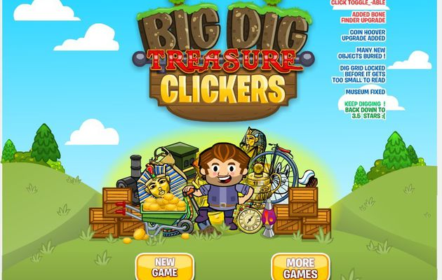 Cookie Clicker Big Dig Treasure Clickers