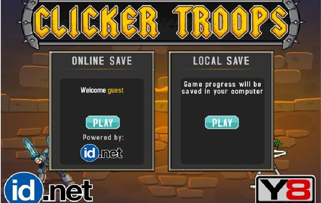 Cookie Clicker Troops
