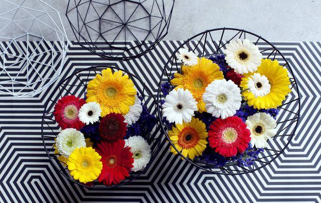 Les fleurs chez soi