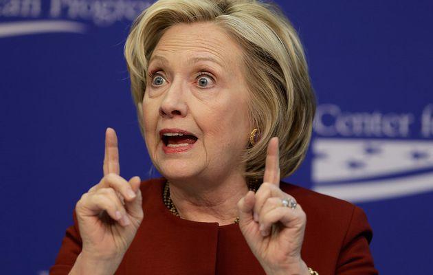 Hillary es un halcón de guerra a la que le emociona indecentemente matar a la gente