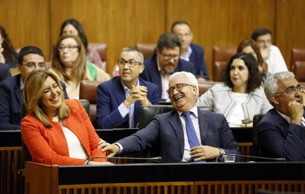 PSOE, Podemos e IU en contra de los andaluces