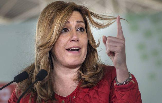 Humillante derrota de Susana Díaz
