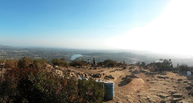 Mission trail regional park - Cowles mountain