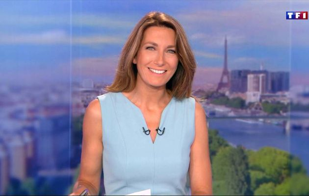 Anne-Claire Coudray JT 13H TF1 03.09.2016