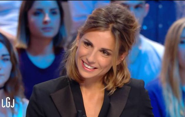 Alice Darfeuille Le Grand Journal Canal + le 05.09.2016