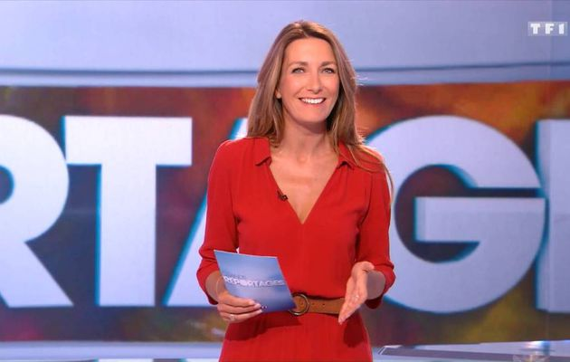 Anne-Claire Coudray JT 13H TF1 10.09.2016