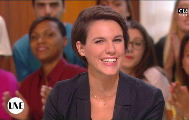 Emilie Besse La Nouvelle Edition C8 le 22.09.2016