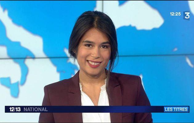 Emilie Tran Nguyen 12/13 France 3 le 26.09.2016