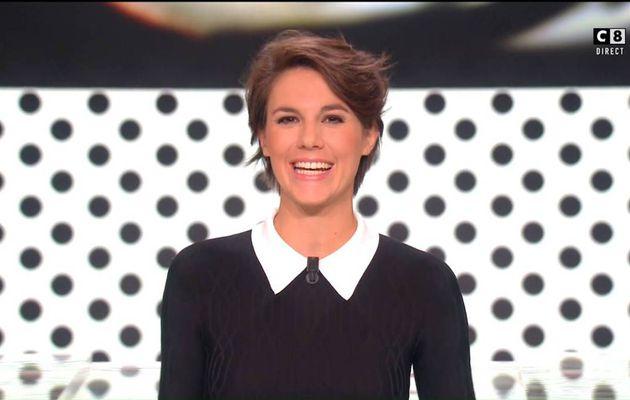 Emilie Besse La Nouvelle Edition C8 le 26.09.2016