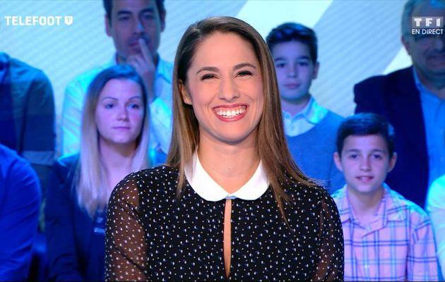 Charlotte Namura Téléfoot TF1 le 16.10.2016