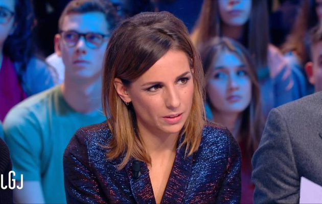 Alice Darfeuille Le Grand Journal Canal+ le 25.10.2016