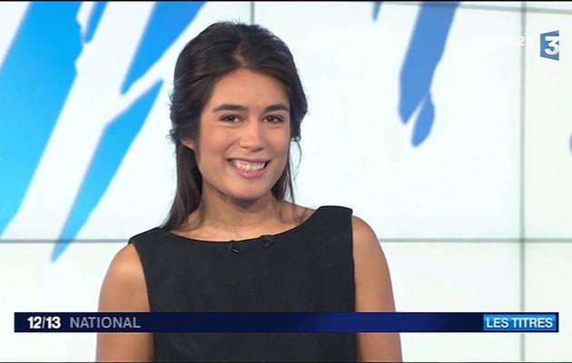 Emilie Tran Nguyen Le 12/13 France 3 le 31.10.2016