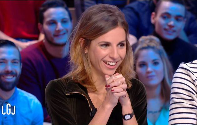 Alice Darfeuille Le Grand Journal Canal+ le 14.11.2016