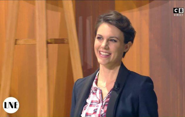 Emilie Besse La Nouvelle Edition C8 le 15.11.2016