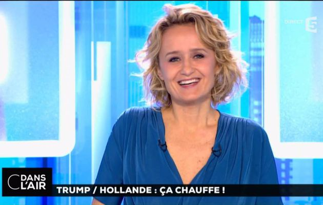 "Caroline Roux C Dans L""Air France 5 le 15.11.2016"