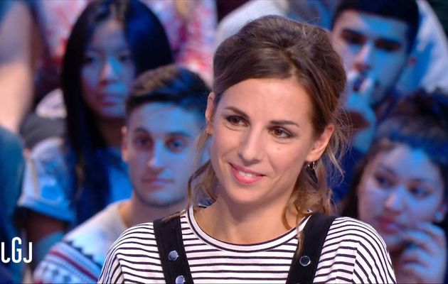 Alice Darfeuille Le Grand Journal Canal+ le 16.11.2016