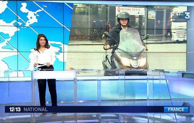 Emilie Tran Nguyen Le 12/13 France 3 le 21.11.2016