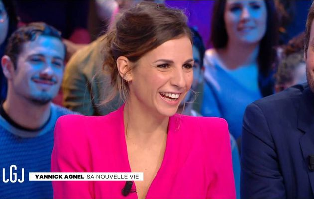 Alice Darfeuille Le Grand Journal Canal+ le 22.11.2016