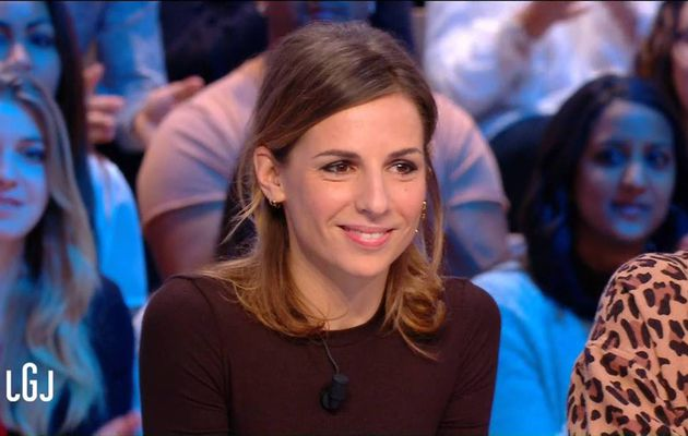 Alice Darfeuille Le Grand Journal Canal+ le 29.11.2016